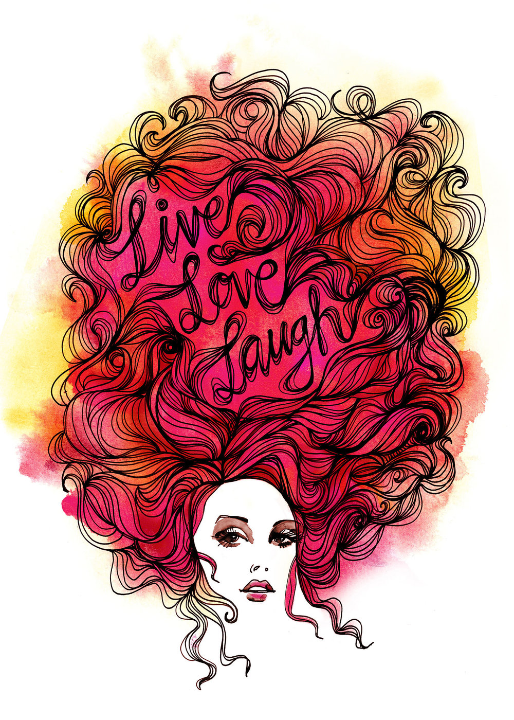 Live, Love, Laugh / Own Project