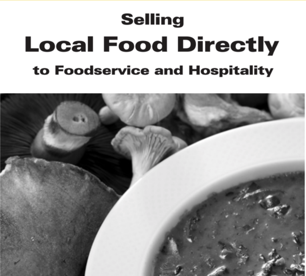 Alberta factsheet : Selling Local Food Directly to Food Service and Hospitality