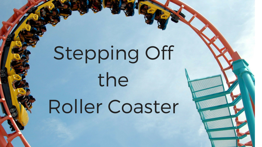 Overcoming the emotional roller coaster.