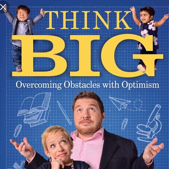 """This week I read """"Think Big: Overcoming Obstacles with Optimism"""" by @jenarnoldmd and  @reallybillklein I can't recommend it enough!!! I was continuing humbled by the strength and perspective this amazing couple shares. And, it's a super easy read because they are basically telling stories the whole time. (Always my favorite!) I kept having to stop reading because I just had to tell Joshua what I just read 🤪. So many ways to think like Heaven in its pages. #grateful for amazing people willing to share their story! • • • #lifeisbeautiful #littlepeople #enjoytheride #theabundantlifenow #hope #faithblogger #getaftergrateful #bedeeplyrooted #beauty #grace #wellwateredwomen #journey #process #mercy #wednesday #reading #shereadstruth #shewritestruth #presentoverperfect #bookworm #graceupongrace #letsbereal"""