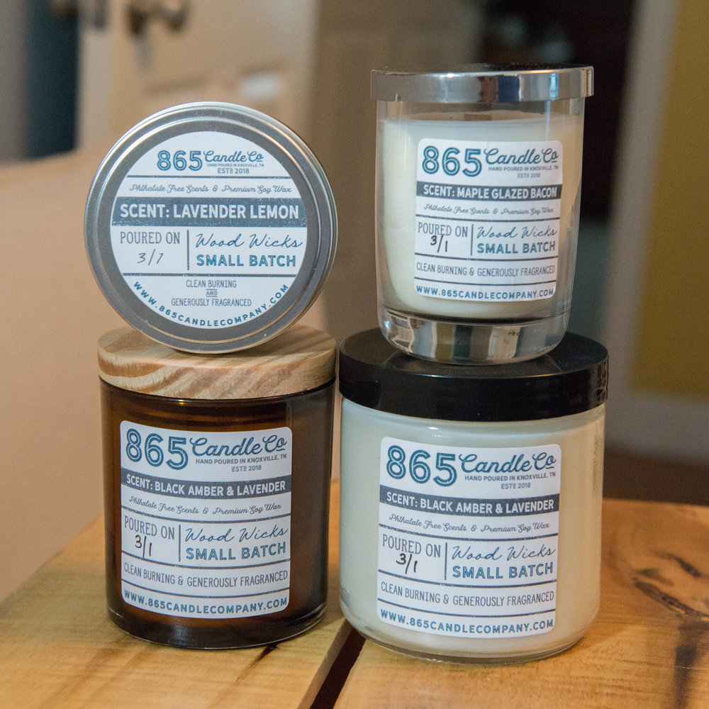 865 Candle Company Launch Day Soy Candle Company