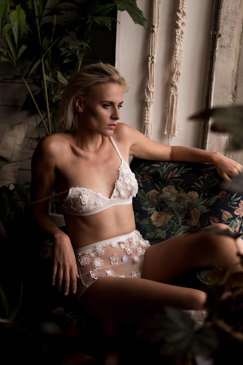 Shoot for Loulette Lingerie   Makeup and hair -Makeup By Joh  Photographer - Edelle Kenny  Model - Anne Windsland