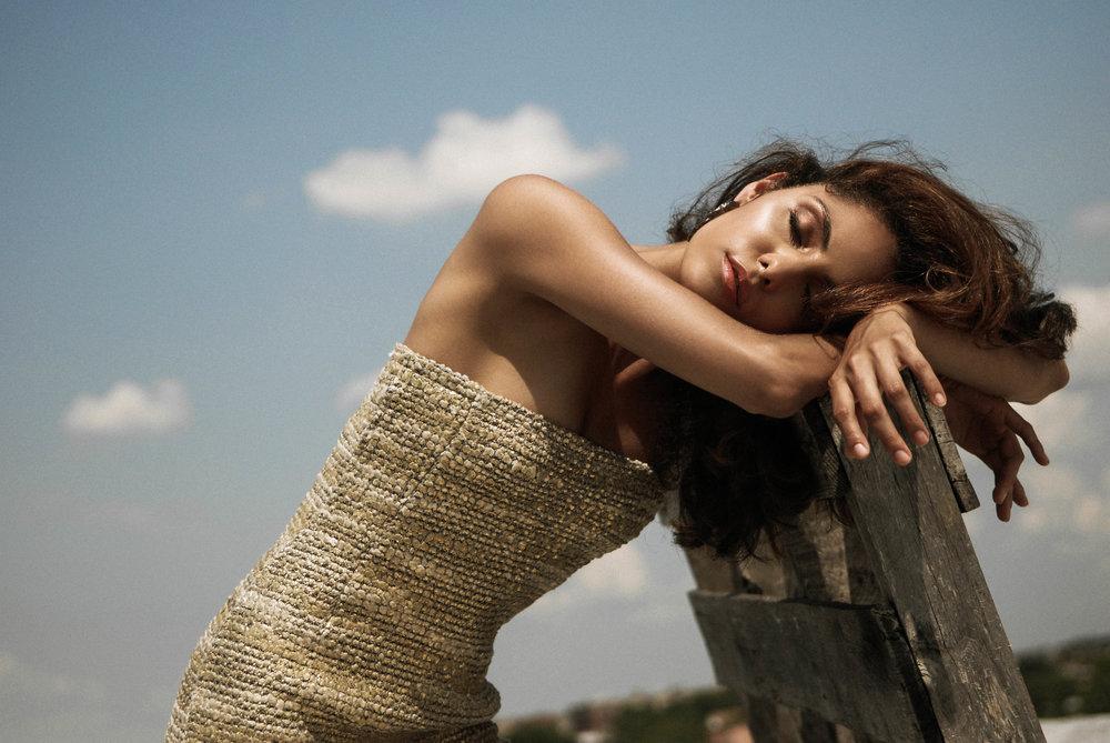 Makeup - Makeup by Joh  Photographer - Marcus Derricotté  Model - Lola Declet  Stylist - Nico Sese  Designer - Liana Camba