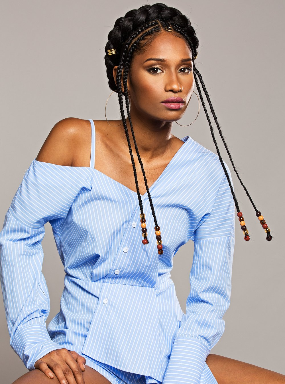 Shoot for Cosmopolitan   Makeup - Makeup By Joh  Photographer - Ruben Chamorro  Model - Renee Bhagwandeen  Hairstylist - Stasha Harris  Styled in Zara