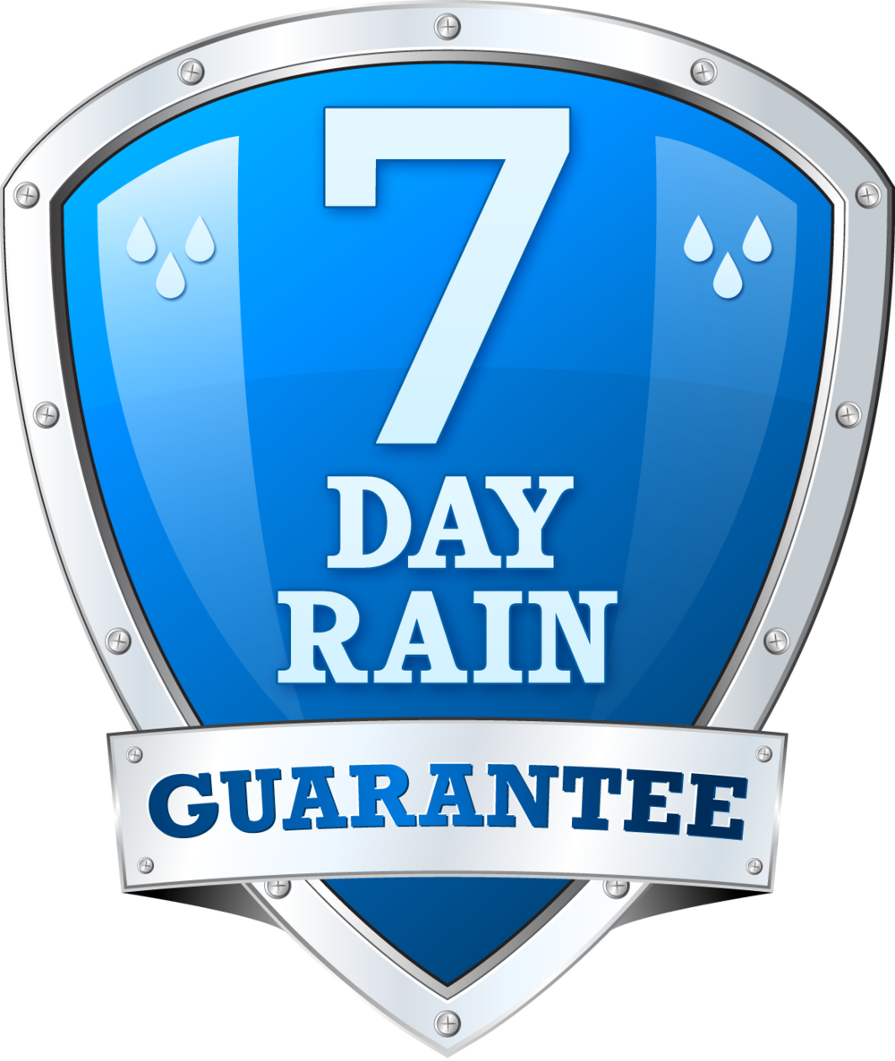 7 Day Rain Guarantee