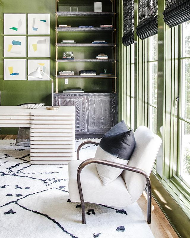 The green room. #Starrsanforddesign