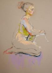 Girl Kneeling <br> 25h x 20w in