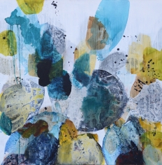Blue Petals 15 <br> 48h x 48w in
