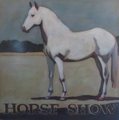 Horse 527 <br> 48h x 48w in