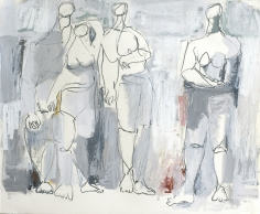 Figures No. 7 <br> 23h x 27w in