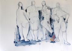 Joie De Vivre, Suite IV <br> 16.5h x 23.5w in
