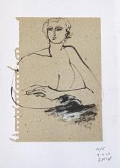 Sketch Book VII #5 <br> 8h x 6w in