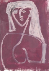 Woman I <br> 23.5h x 16.5w in