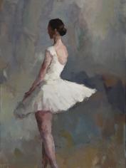 Ballerina In Profile <br> 36h x 36w in