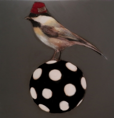 Bird Ball II <br> 36h x 36w in