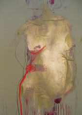 Torso Red Left <br> 34h x 24w in