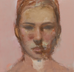 Untitled/Pink <br> 12h x 12w in