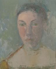 A Poet/Caroline <br> 17h x 14w in