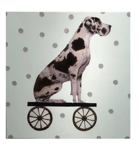 Dog Train <br> SOLD