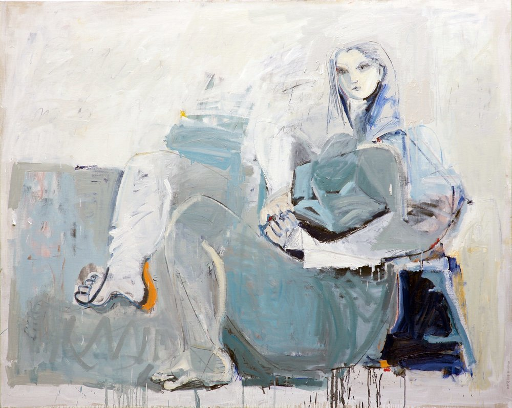 Bathers No. 6 <br> 48h x 60w in