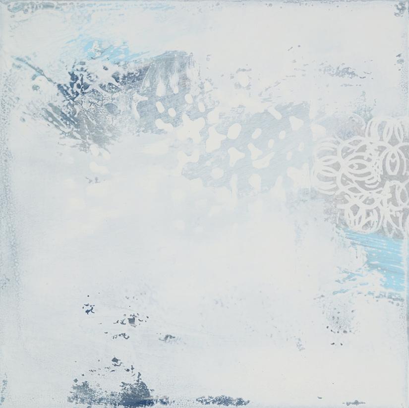 White Drift 9 <br> 12h x 12w in