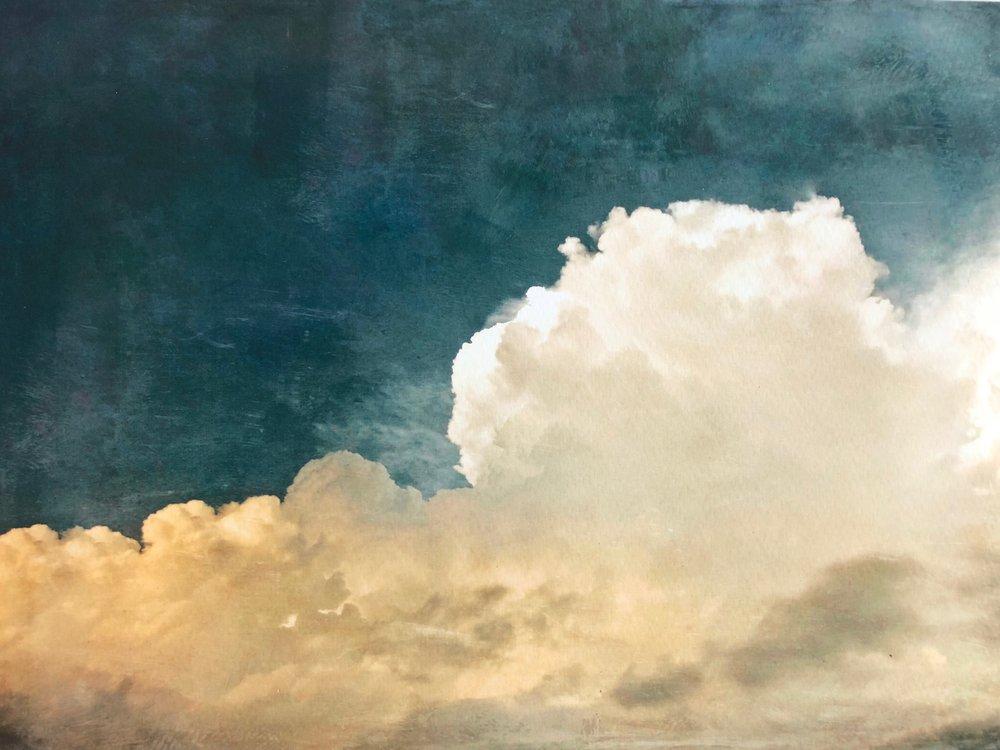 Cloud Study 48 <br> 36h x 48w in