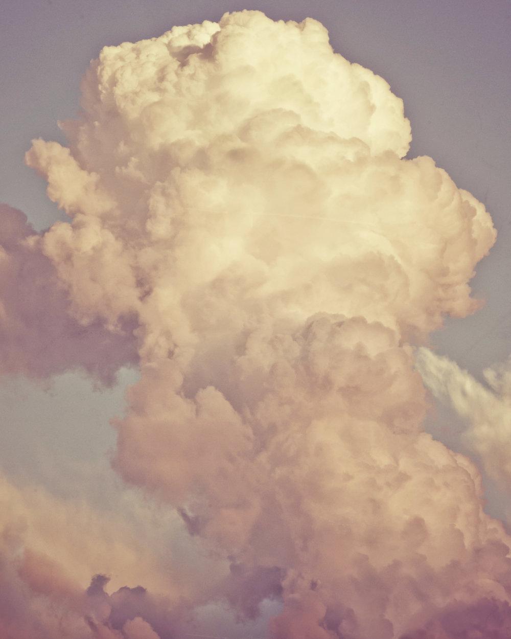 Cloud Study 47 <br> 36h x 48w in
