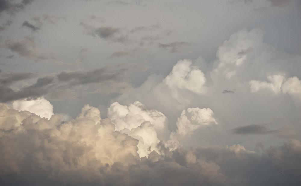 Cloud Study 19 <br> 36h x 60w in