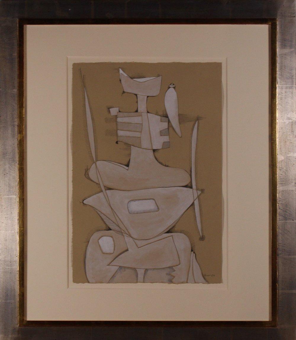Diana 22h x 15w in, 35h x 30w in framed.JPG