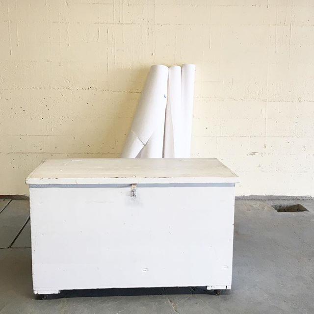 Huge and beautiful blanket trunk from @aforkintheforest ! 5' wide and 2.5' tall-a keeper!! This showroom continues to bring in the yummy!  Crisp, clean, old and woody all in one!  Your Portland Lifestyle Store! Every day, 9-6