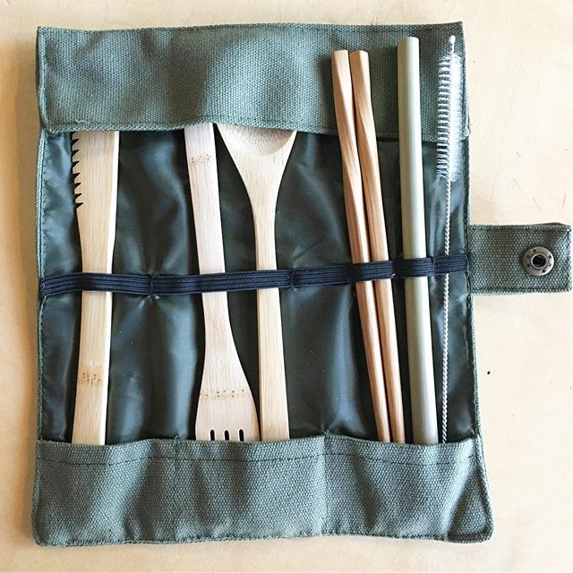 Sure we can perfect your space with the best interiors styling  AND We also have the coolest smalls in town! Just in time for camping and festival season-the Ultimate Northwest personal travel kit! Everything re-useable! Heavy washable canvas, hand-carved utensils knife/fork/spoon, cooking or eating chopsticks, and a bamboo straw with steel stem cleaner! And leaving three more slots available for your favorite add-ons, toothbrush anyone? Snap is nautical grade brass for a long and happy snappy life! Available in summer (cream) and woodsman (green) .  Come on in every day 9-6 And see whats new!