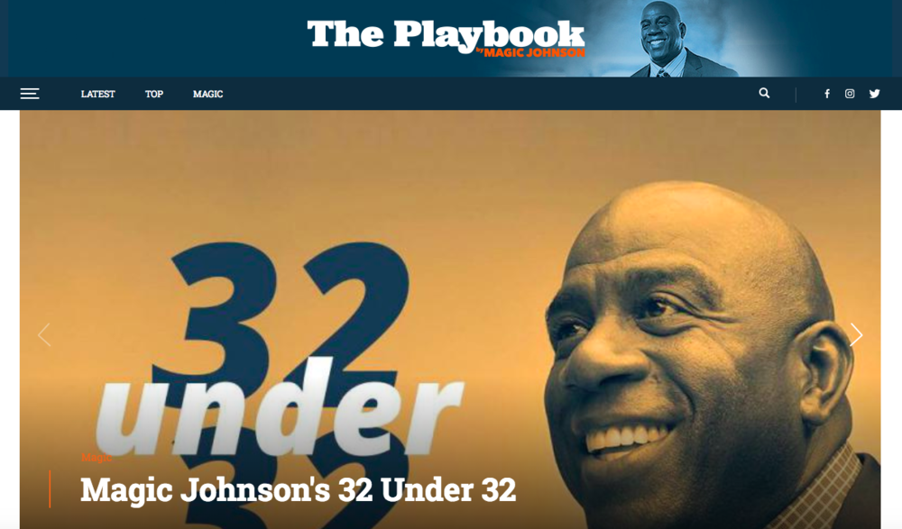 The Playbook by Magic Johnson