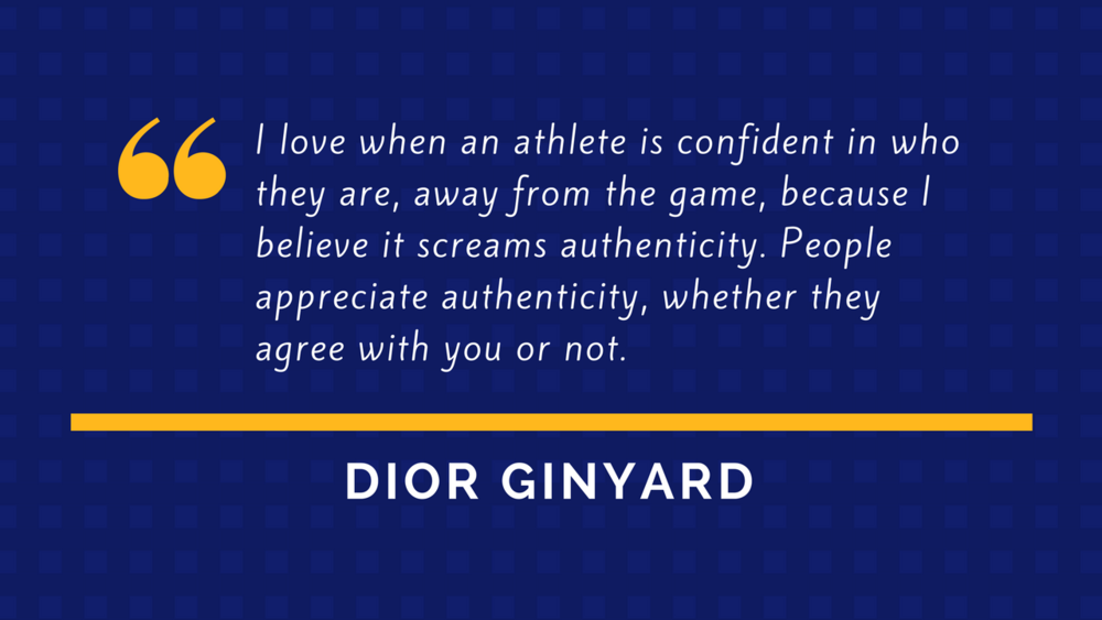 Dior Ginyard Quote