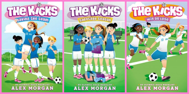 Soccer player Alex Morgan sells books, among other products,on her website. (Photo Courtesy:finishersblog.wordpress.com