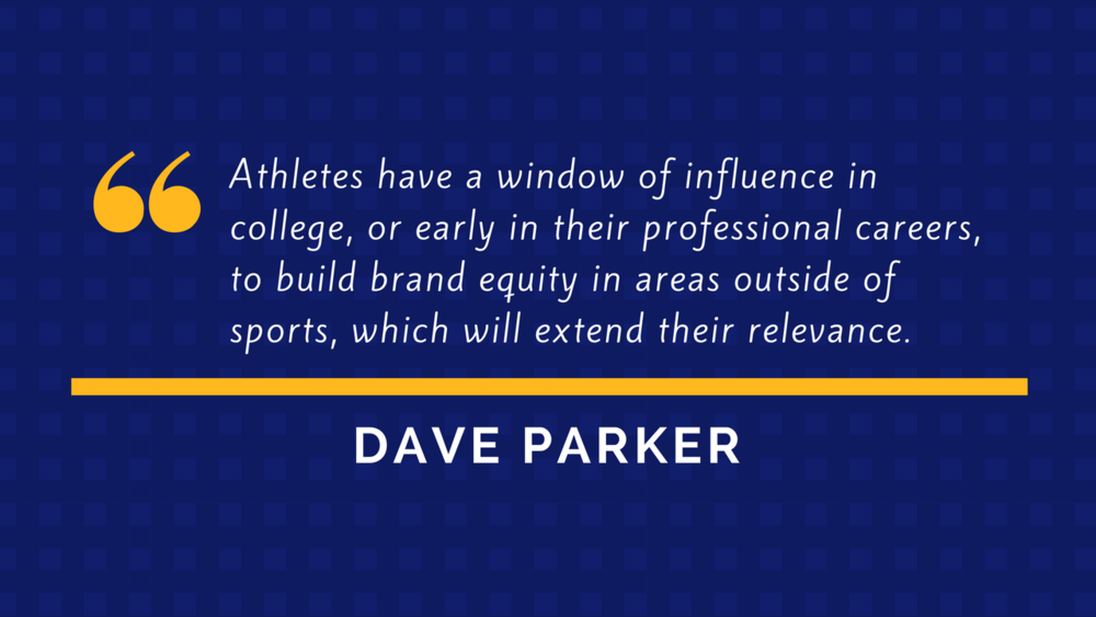 Dave Parker Quote - Athlete Branding and Marketing