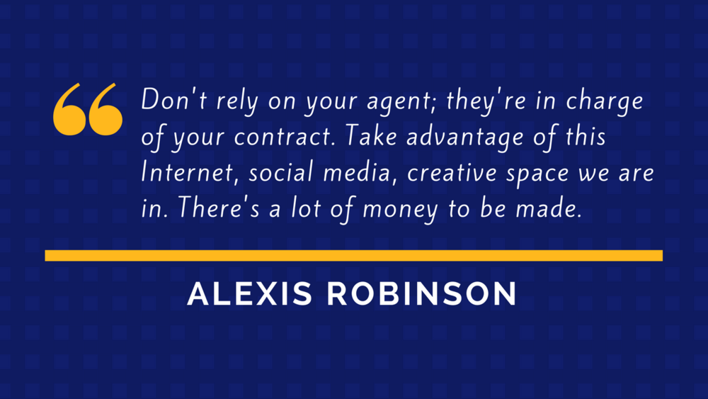 Alexis Robinson Quote - Athlete Branding and Marketing