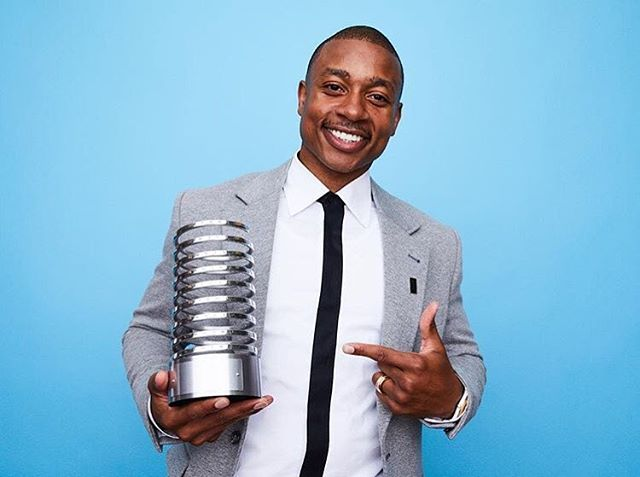 "Congrats to @isaiahthomas on winning a Webby Award for his Web series ""Book of Isaiah"" 📺 #TheCompletePlayer"