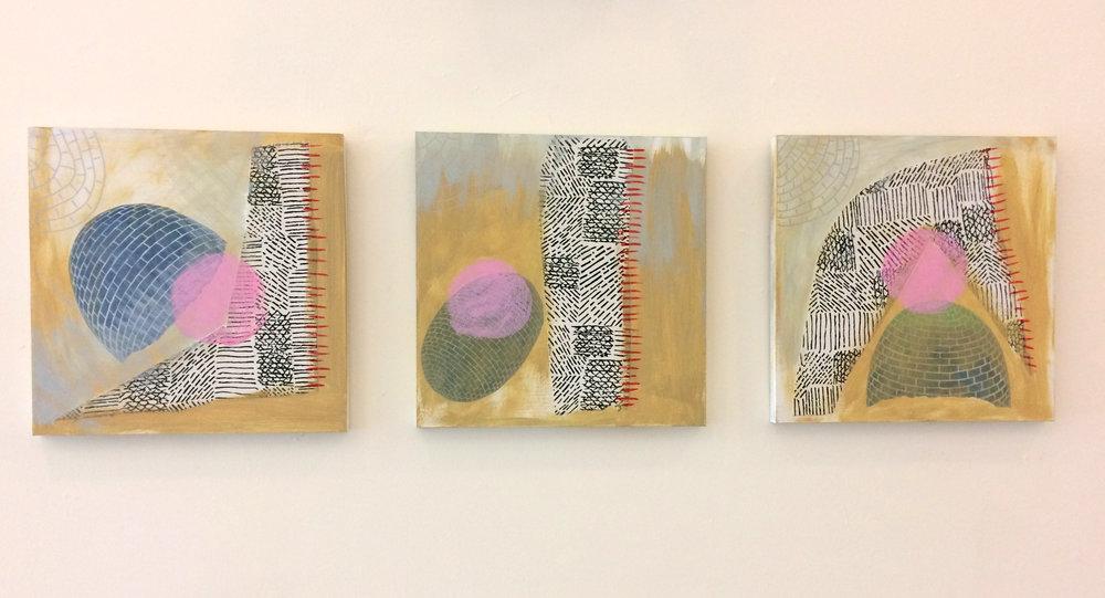 REdisrupt (triptych)