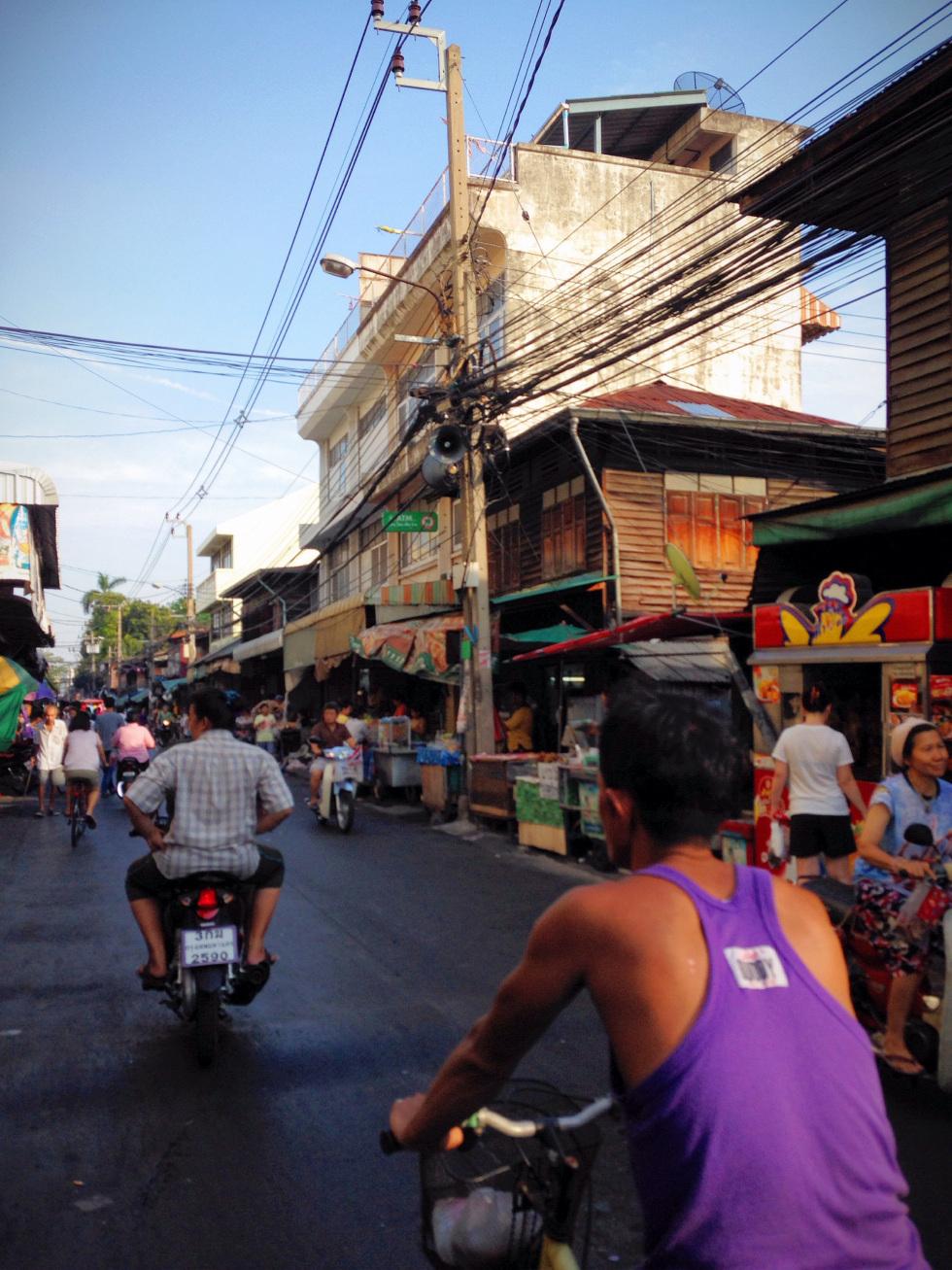 biker in thailand