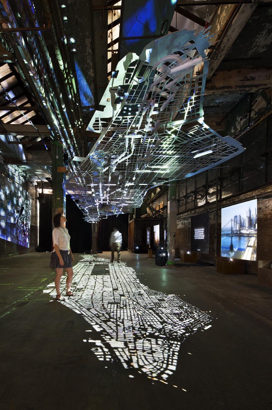 Audi Columbia University Experiments In Motion ART DOMANTAY - Audi of columbia