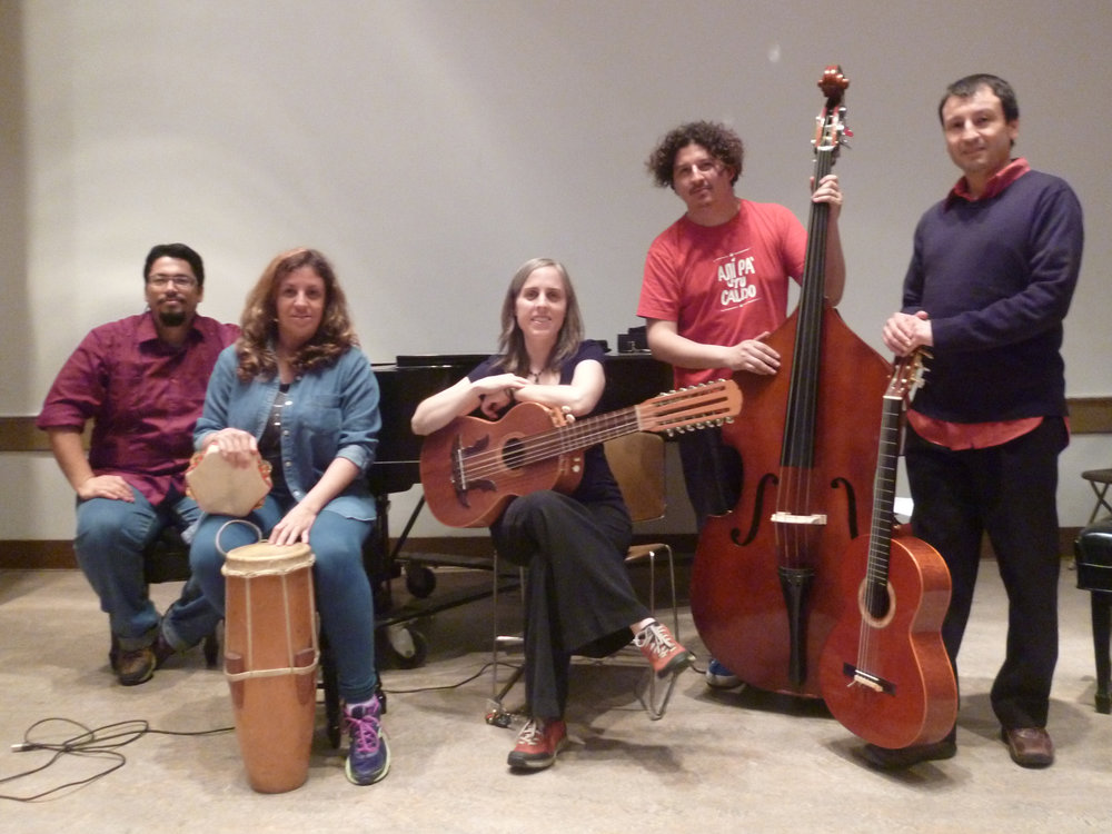 Orión Morales, Ella Ponce, Emily Pinkerton, Daniel Fuenzalida, Rodrigo Invernizzi