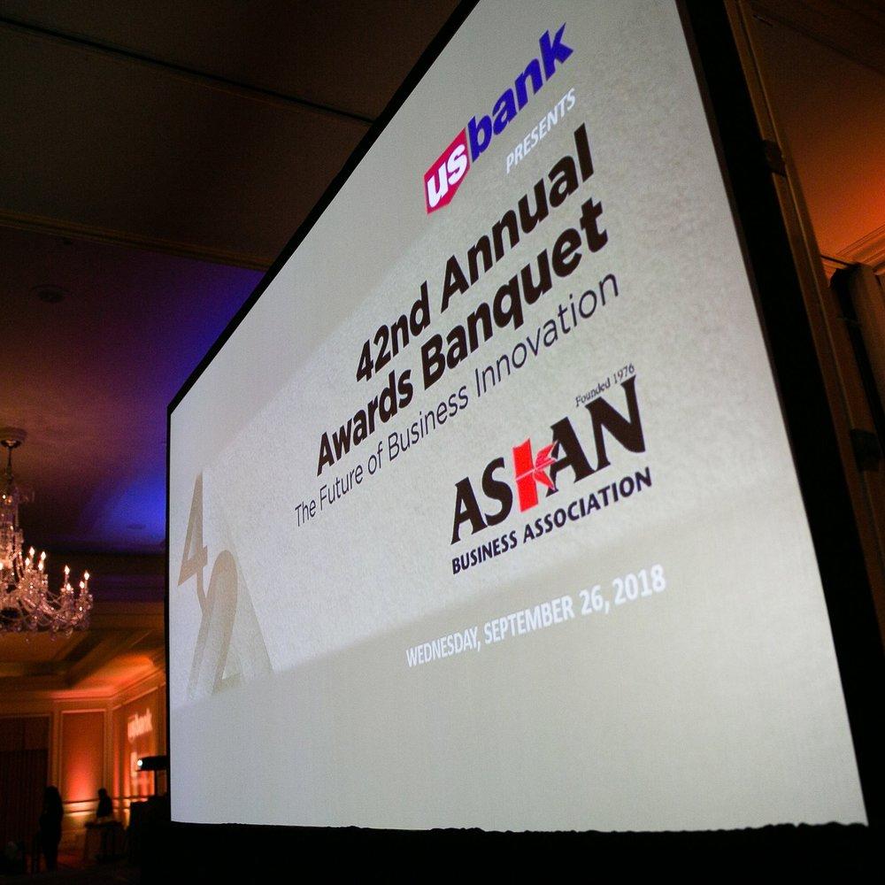 42nd Annual Awards Banquet*, Asian Business Association (ABA) - September 26, 2018