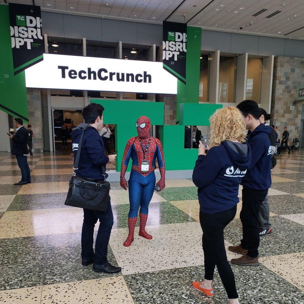 2018 TechCrunch Disrupt SF* - September 5-7, 2018
