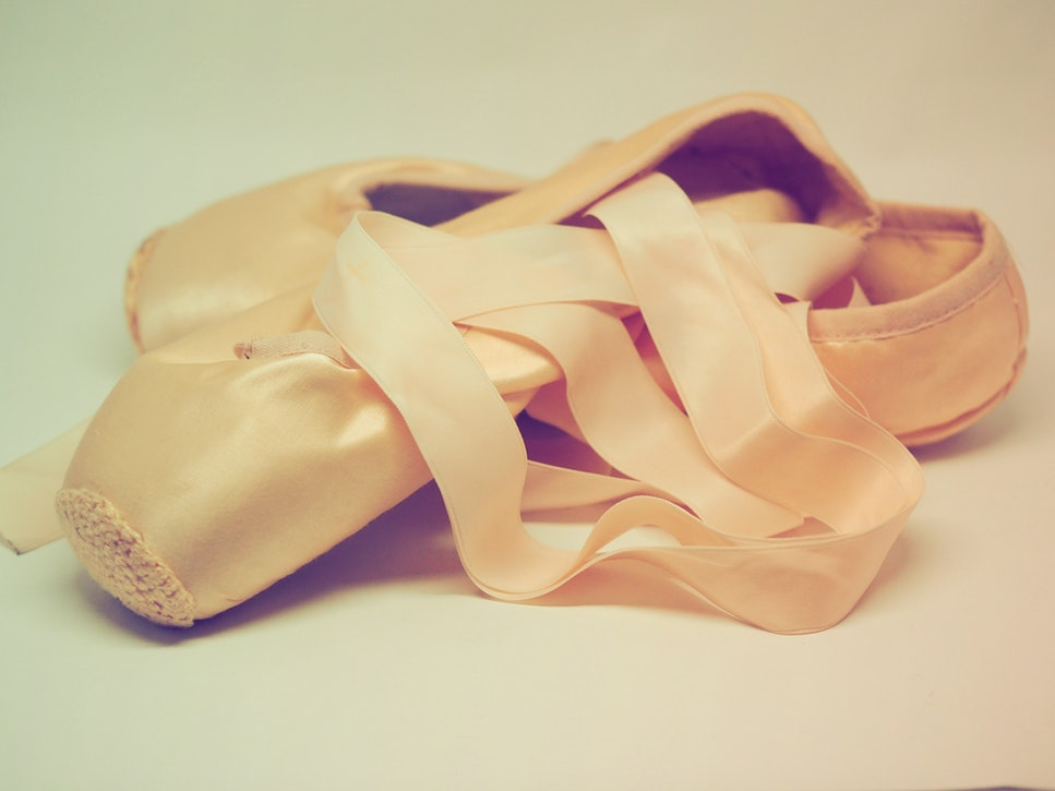 pretty pointe shoes