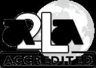 A2LA accredited symbol BW.png