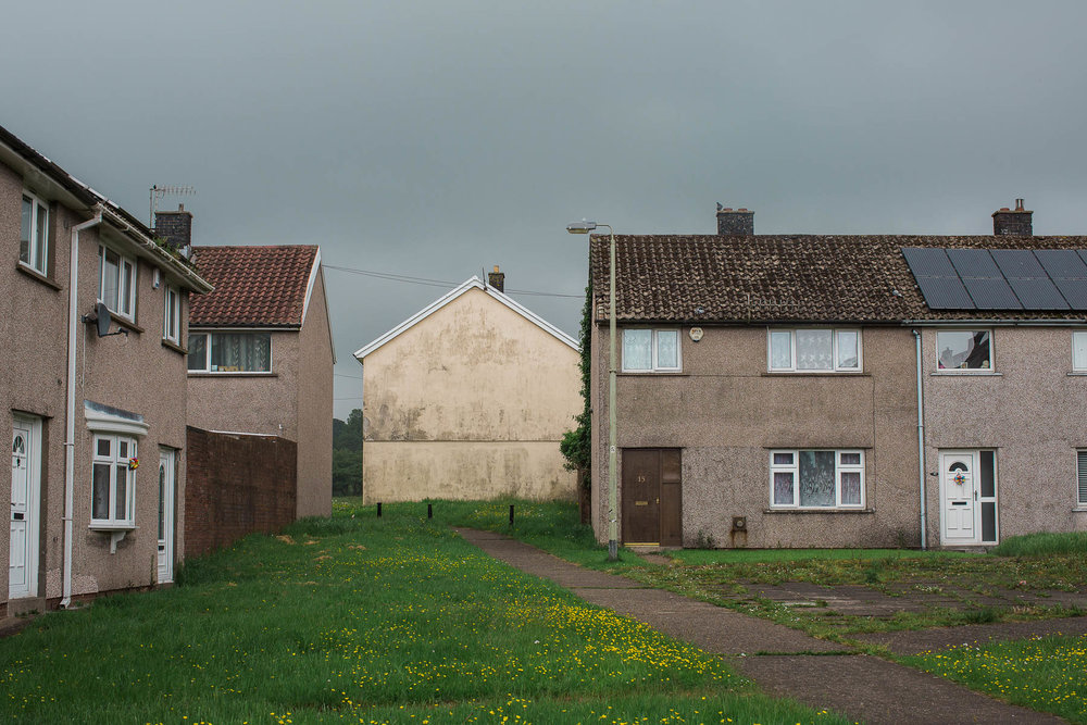 Gurnos housing estate, Merthyr Tydfil - a town dubbed 'sick note city' in the press.