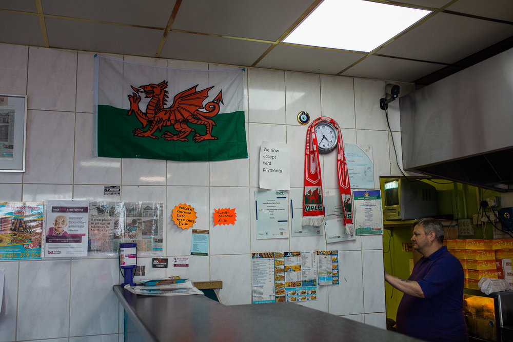 Gurnos Estate Fish and Chip shop, Merthyr Tydfil