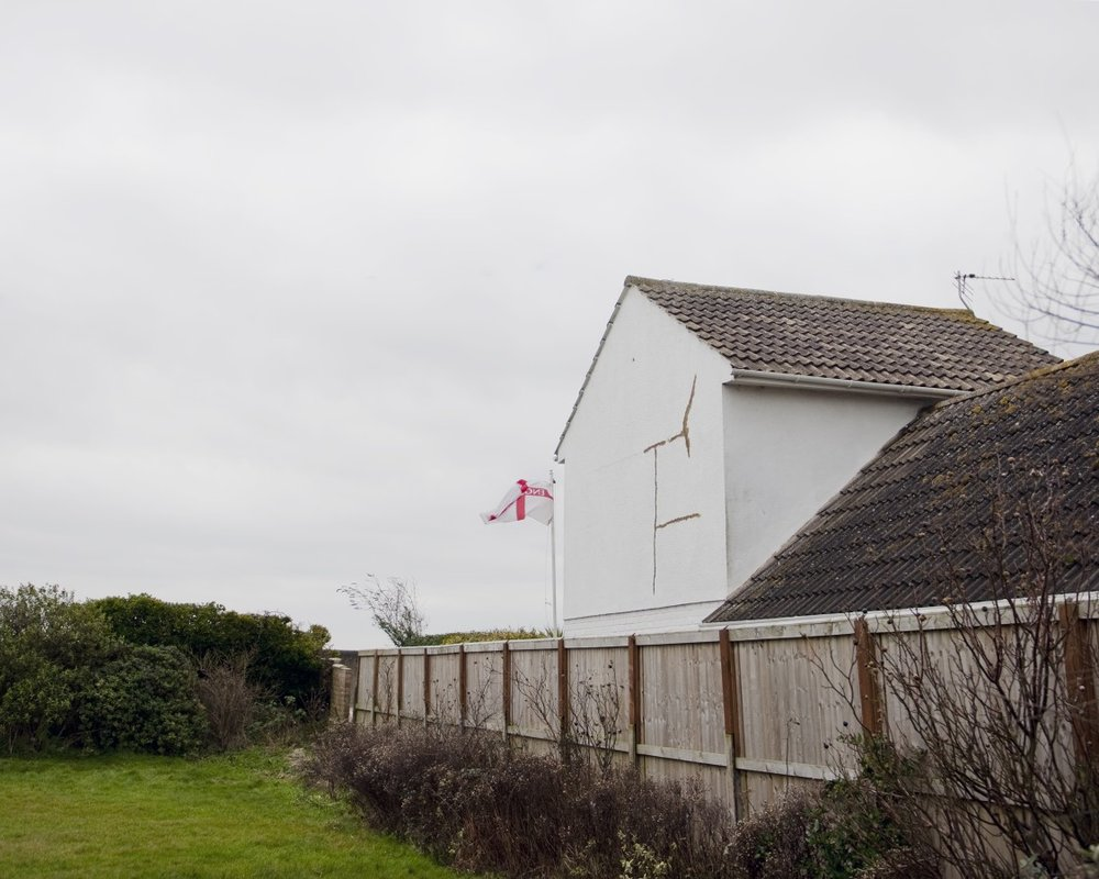 A Norfolk home creeps ever nearer to the edge.