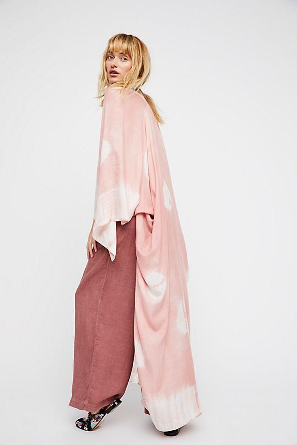 Spellbound Tie Dye Kimono - $58 at  Free People