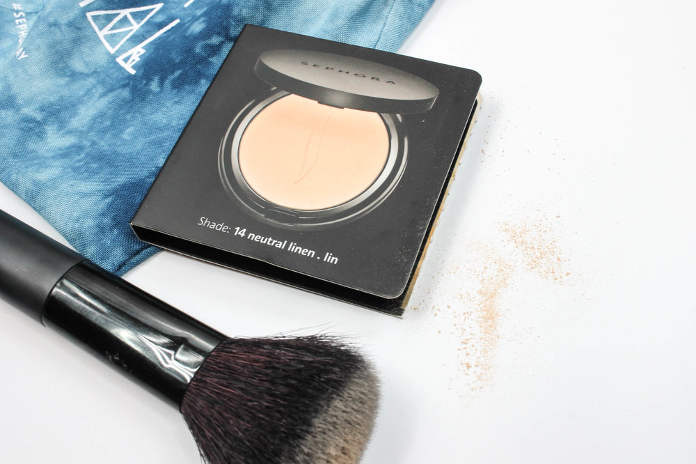 Sephora Collection - Matte Perfection Powder Foundation in Neutral Linen ($20 at  Sephora )